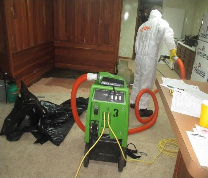 Drain Backup Results in Water Damage to Brecksville Home