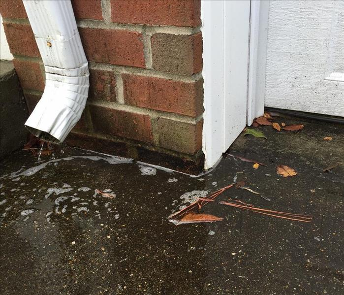 Water Damage Rain Gutters and Water Problems